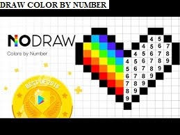 Draw Color by Number